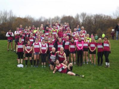 Lliswerry at the Rogerstone XC, 1st December.